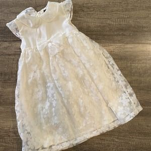 White Special Occasion Dress Size 5/6